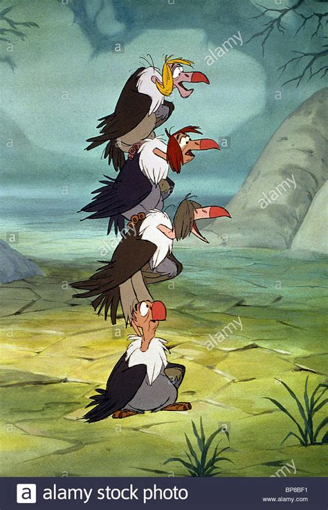 VULTURES THE JUNGLE BOOK (1967 Stock Photo, Royalty Free