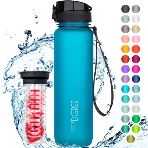 720°DGREE Trinkflasche uberBottle 1000ml, Farbe:sky | real