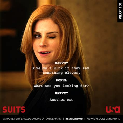 Suits - {Harvey & Donna} #6: because you and steven it