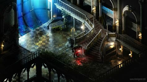 This is what BioShock would look like as a 2D isometric