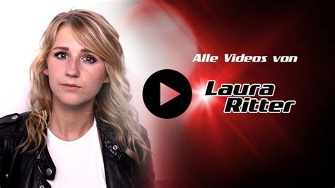 Alle Videos von Laura Ritter - The Voice of Germany 2016