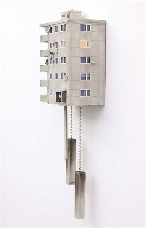 Fly Back in Time with These Brutalist Cuckoo Clocks
