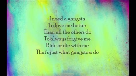 Kehlani - Gangsta (From Suicide Squad The Album) (Lyric