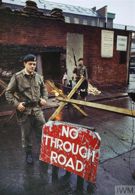 THE BRITISH ARMY IN NORTHERN IRELAND, 1969 - 2007 (TR 32998)