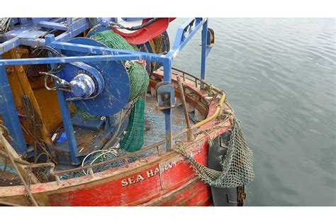 Accident on the twin rig prawn trawler Sea Harvester with