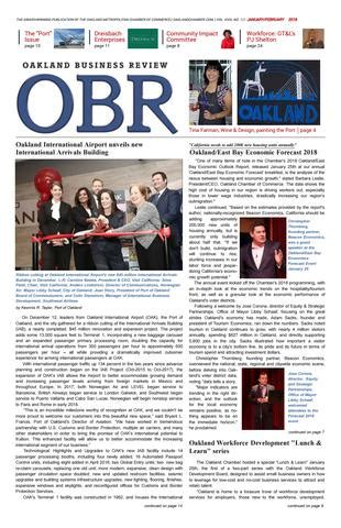 Oakland Business Review | JAN_FEB 2018 by Oakland Chamber