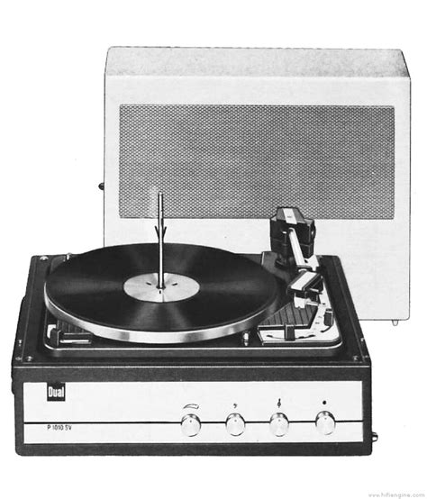 Dual P 1010 Automatic Record Changer Manual | Vinyl Engine
