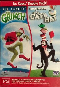 The Grinch / Cat In The Hat (DVD, 2004, 2-Disc Box Set