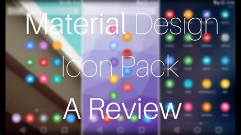 Material Design Icon Pack For Windows 7/8/8
