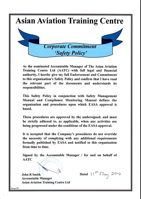 Compliance and Safety - AATC