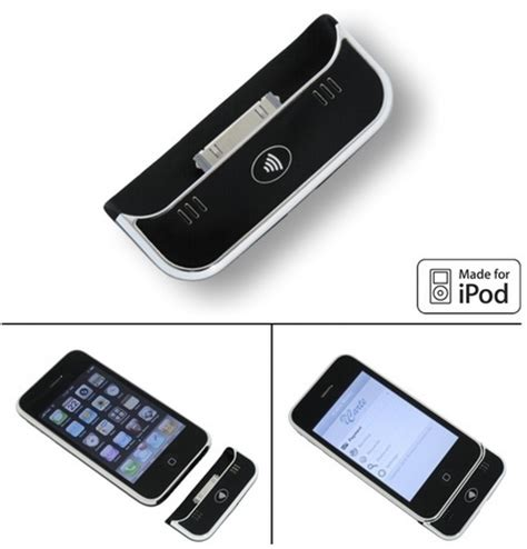 Wireless Dynamics iCarte 110 NFC / RFID Reader for iPhone
