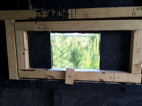 Building a deer blind | Deer Hunter Forum