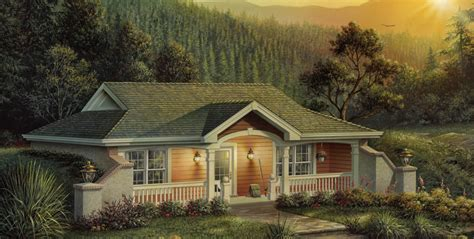 Vacation Homes House Plan #138-1187: 1 Bedrm, 809 Sq Ft