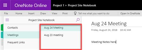 10 ways to use OneNote for Project Management - SharePoint