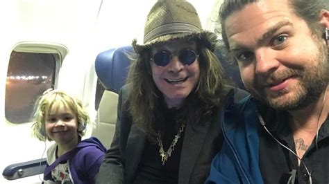 Jack Osbourne Shares Sweet Family Selfie With Dad Ozzy and