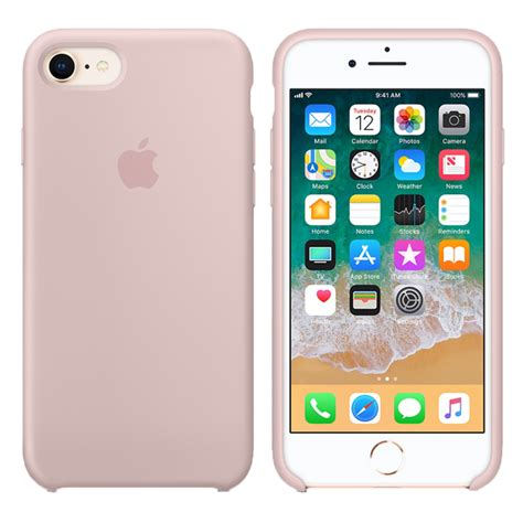 Apple iPhone 8 - 7 Silicone Case - Pink Sand MQGQ2ZM-A