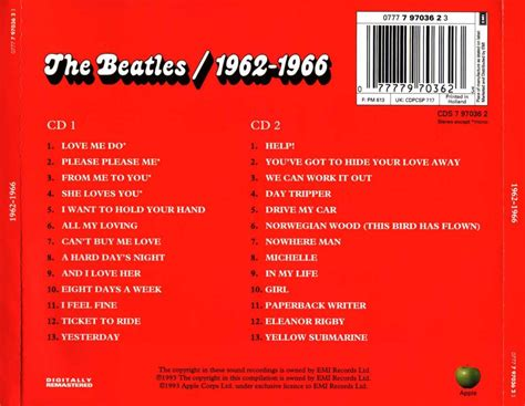 RADIO ROCK 4: 1973 - The Beatles 1962-1966 (red album)