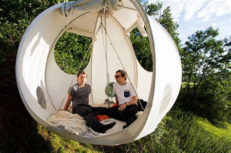 The Hanging Tent Company's picnic in the tree tops