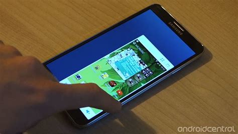 How to shrink the Galaxy Note 3's display into a tiny