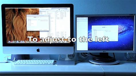 How to add a second screen on your iMac 2011 onwards - YouTube