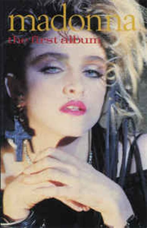Madonna - The First Album (Cassette, Europe, 1985) | Discogs