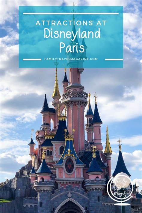 Disneyland Paris Attractions that the Family Will Love