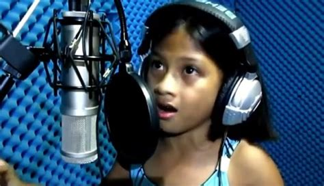"""10-Year-Old Filipina Sings """"The Power Of Love"""" by Celine Dion"""