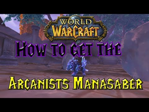 Arcanist's Manasaber - Item - World of Warcraft
