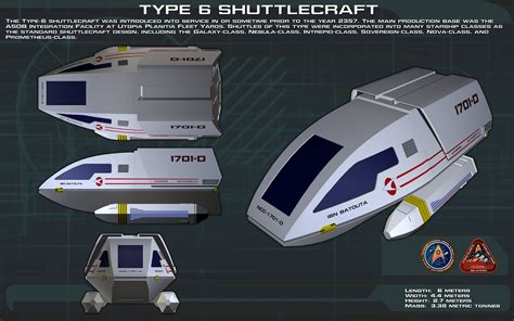 Type 6 Shuttlecraft ortho [New] by unusualsuspex