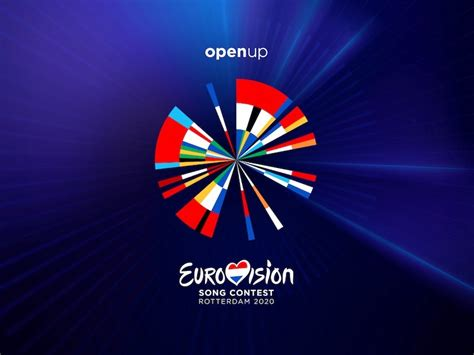 Eurovision 2020 logo: The colours from the flags of the 41