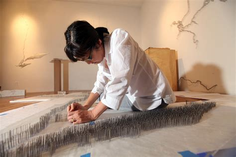 Maya Lin's 'Here and There' at Pace Gallery - The New York