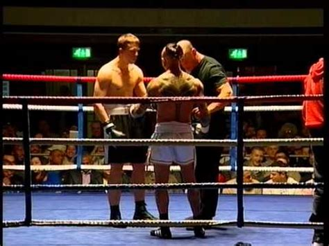 My first Boxing match