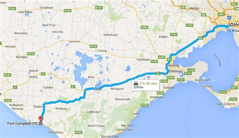 Great Ocean Road drive 2020 [self itinerary with map of