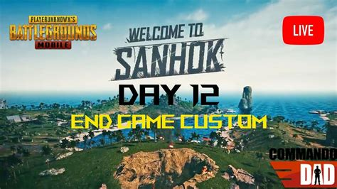 PUBG day 12 | Live| Chamba | Commando - YouTube