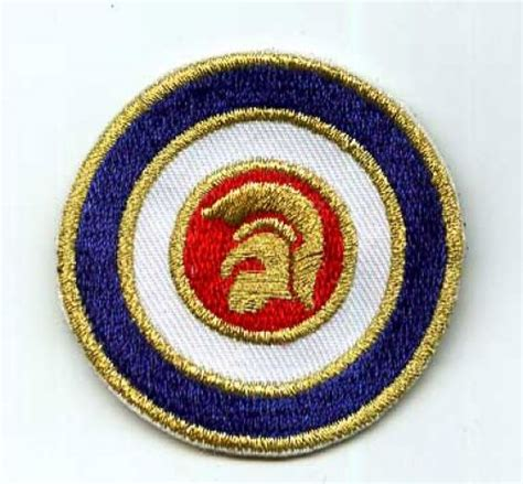 Trojan Records Target Patch Small [] - 3