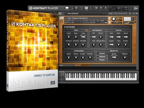 play custom instruments in the free Kontakt Player - YouTube