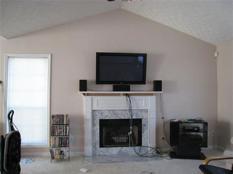 Speaker placement w/ fireplace mounting? (pic inside