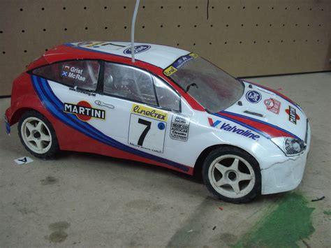 VINTAGE 90s KYOSHO 1/10 FORD FOCUS RS WRC PURE TEN EP