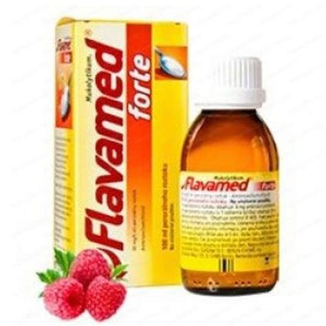 Flavamed Forte syrup 100ml