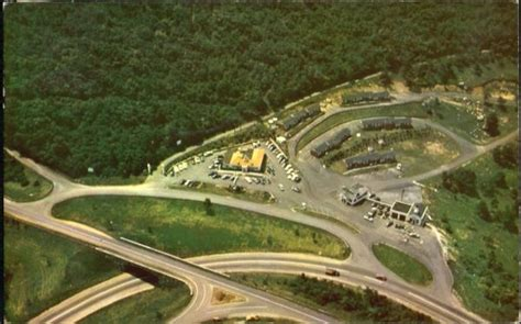 Aerial View Of Junction Of Skyline Drive, Blue Ridge