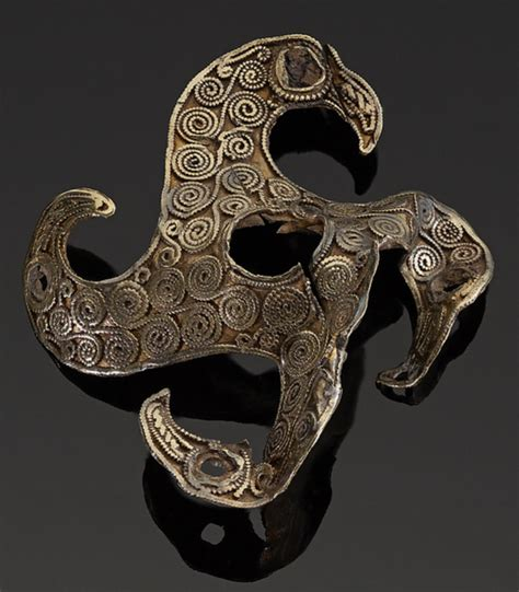 Eagle quatrefoil brooch from the Staffordshire Hoard