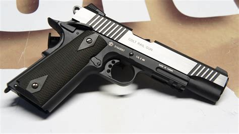 KWC x Colt 1911 Rail Gun ® Co² BlowBack - Dual Tone