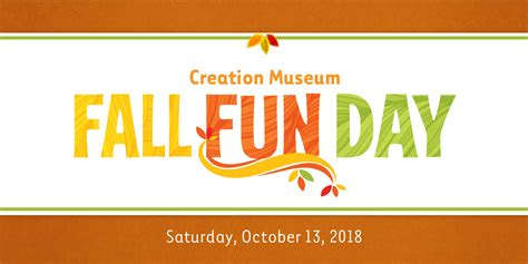 Bring the Family to the Creation Museum for Our Fall Fun