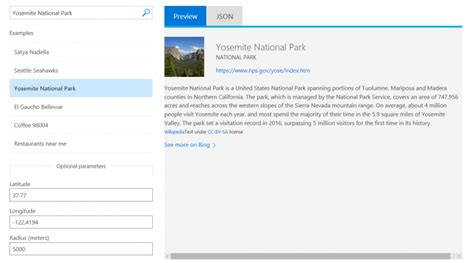 Bing Entity Search API Now Generally Available | Mashford