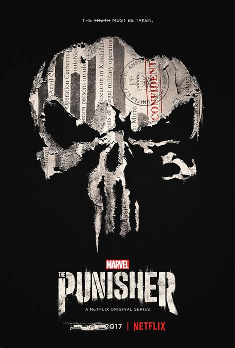 Netflix's THE PUNISHER: New Key Art and Motion Poster