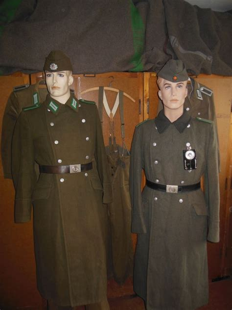 The East German Border Guard Uniforms from 1962 - Germany
