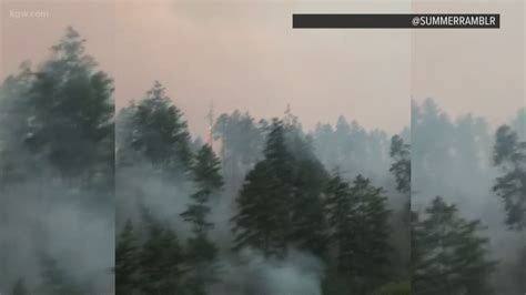 Milepost 97 Fire burning 11,000 acres in Southern Oregon