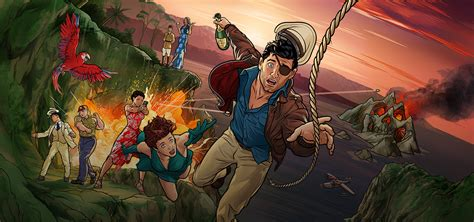 Archer Season 9 Trailer Takes Viewers to Danger Island