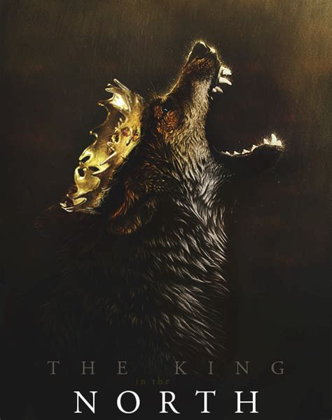 The KIng in The North - Game of Thrones Fan Art (33810963