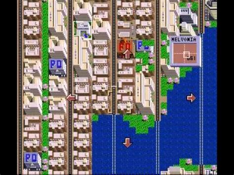 SimCity SNES - Megalopolis 500,000 People - Melvonia - YouTube